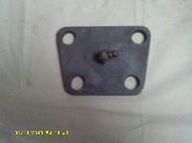 2.5 TON KING PIN TOP PLATE.
