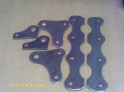 Adjustable shock brackets