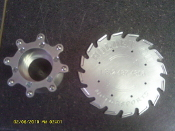 2.5 TON PINION FLANGE SAW BLADE