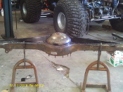 2.5 TON REAR AXLE GUSSET KIT