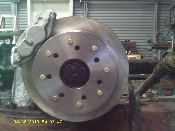 5 TON BIG BEARING PINION BRAKE KIT