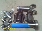 1480 SERIES DRIVESHAFT KIT (NO TUBE)